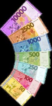 Giant Ilian Banknote Fan 2.0