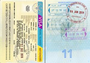Ilia Passport Stamp Page (+ Stuff)