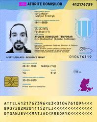 Telemor Residence Permit, v. IDK