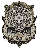 The Mind Reader, Owl Shirt by Design-By-Humans