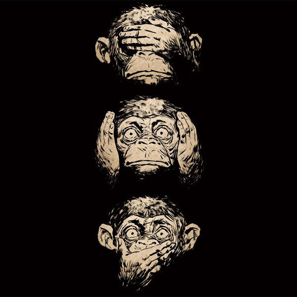 Hear No Evil, See No Evil, Speak No Evil by Design-By-Humans