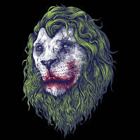 Joker Lion by Design-By-Humans