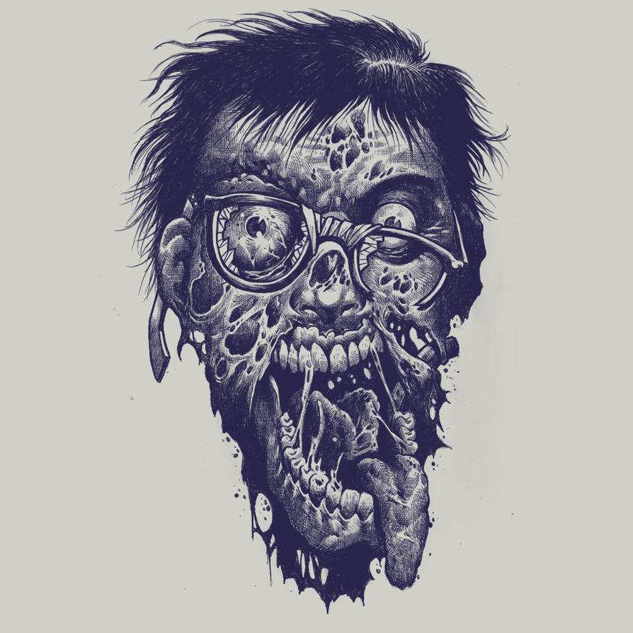 Geek Zombie by Design-By-Humans