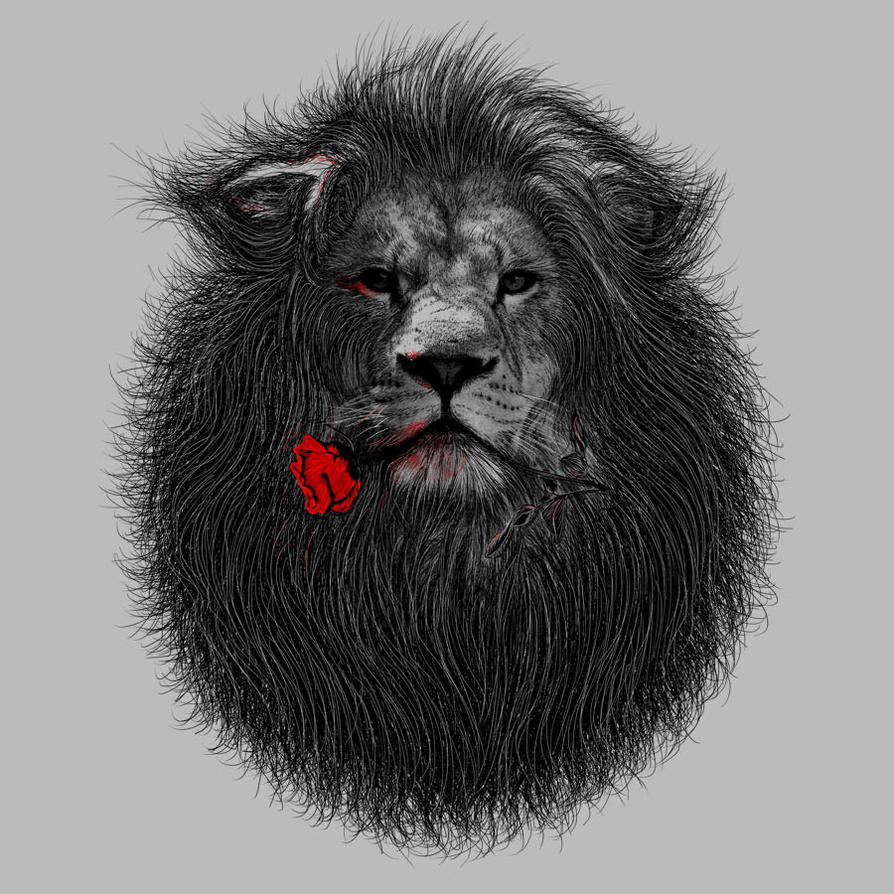 LionandRose by FZDAkurt by Design-By-Humans