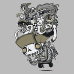Everything In My Head by artist Eyesore427 by Design-By-Humans