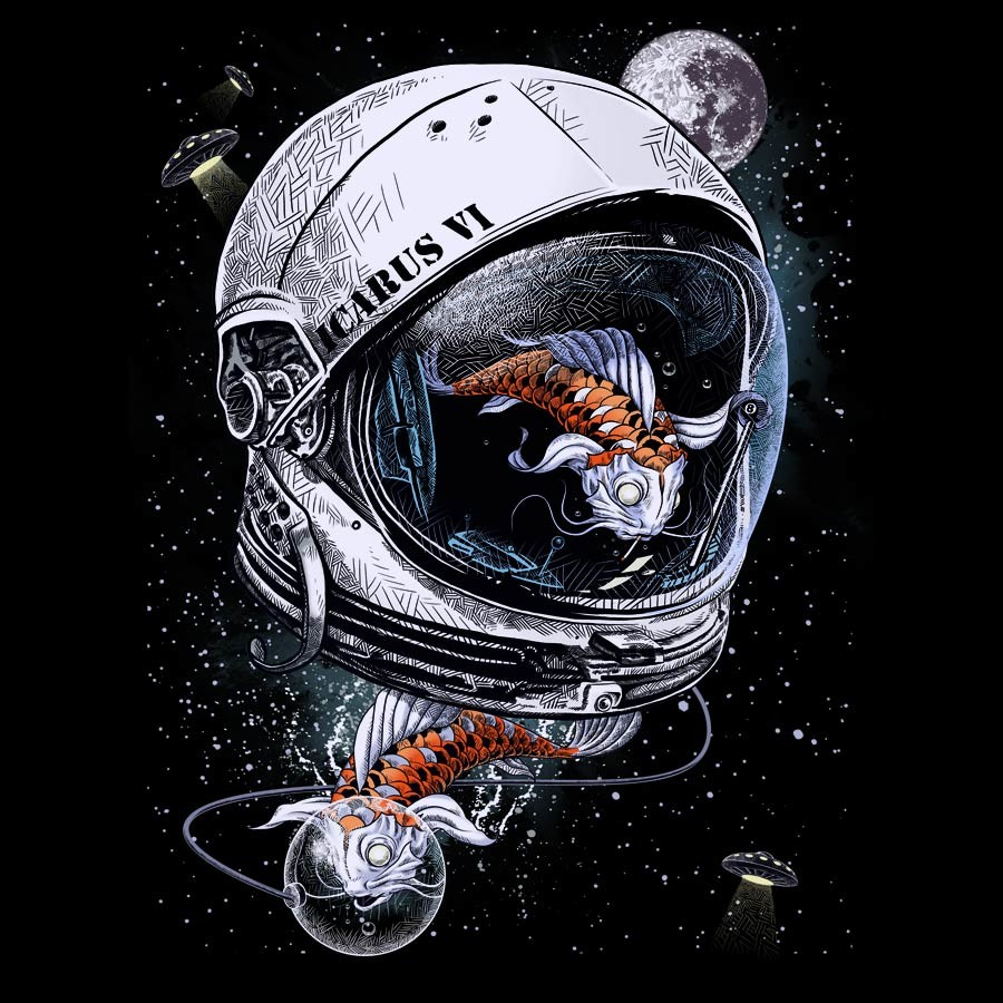 Space Koi by DrSpazmo by Design-By-Humans on DeviantArt