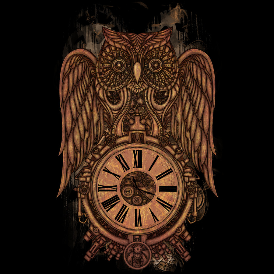 Steampunk owl by atatos by design by humans on deviantart for What is steampunk design