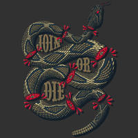 Join Or Die by Lucacozzi by Design-By-Humans