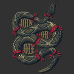 Join Or Die by Lucacozzi