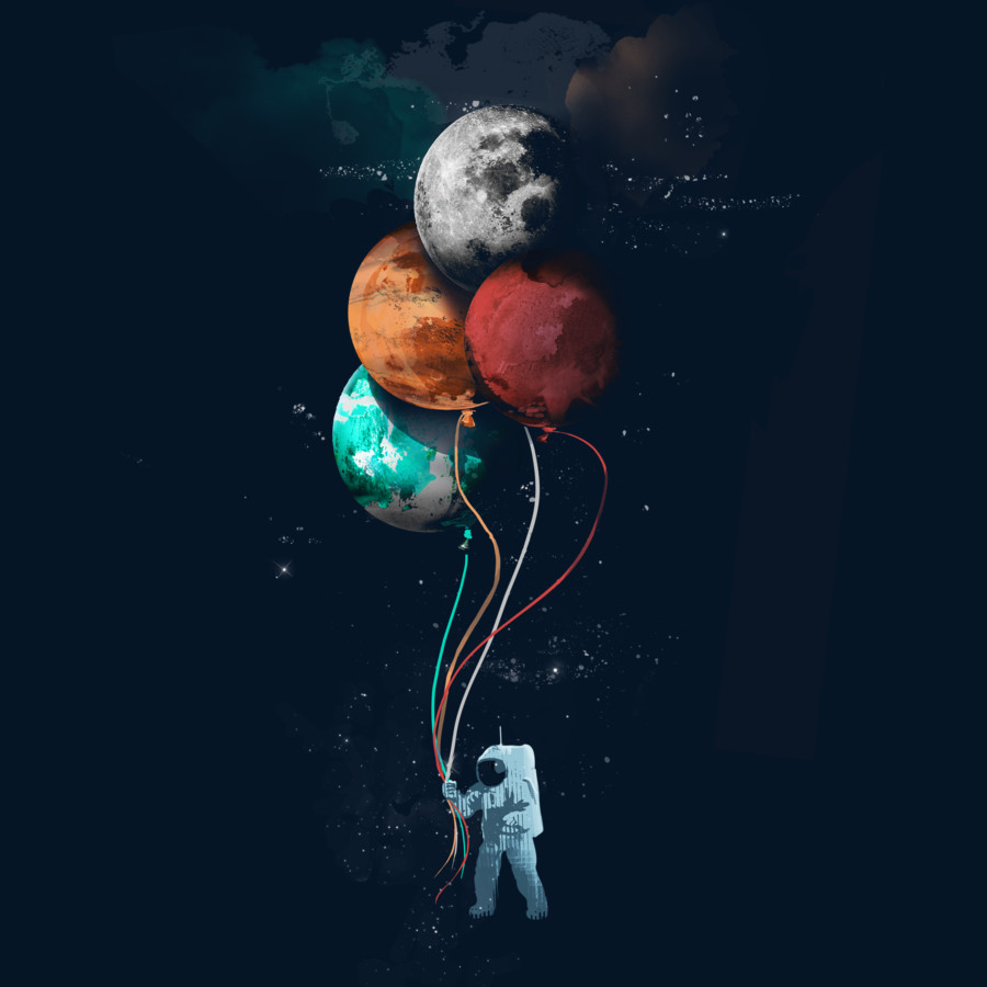 The Spaceman's Trip by aritst gloopZ by Design-By-Humans