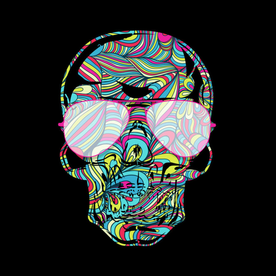 skull color waves by design by humans