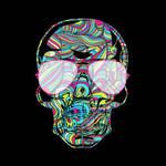 Skull Color Waves
