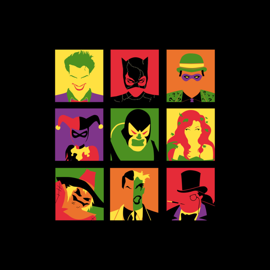 Villain Batman PopArt by Design-By-Humans
