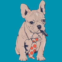 French Bulldog Boss by Design-By-Humans