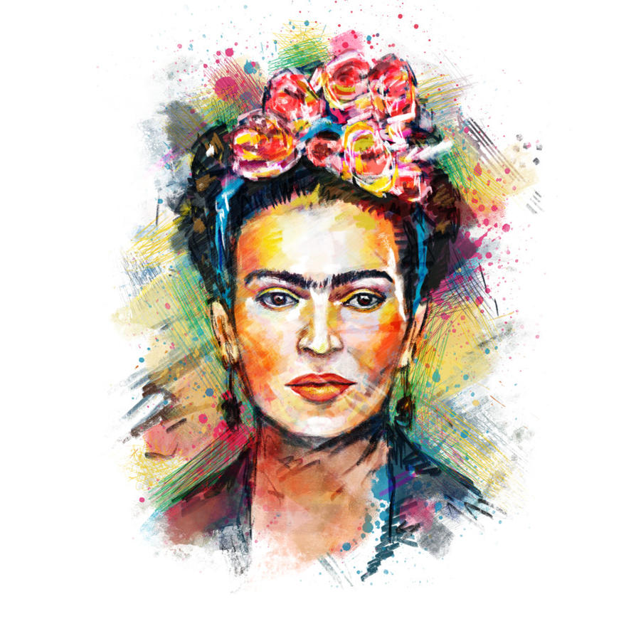 Frida Kahlo by Design-By-Humans on DeviantArt