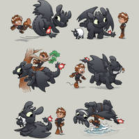 How Not to Train Your Dragon by Design-By-Humans