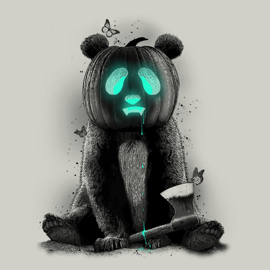 PANDALOWEEN by Design-By-Humans