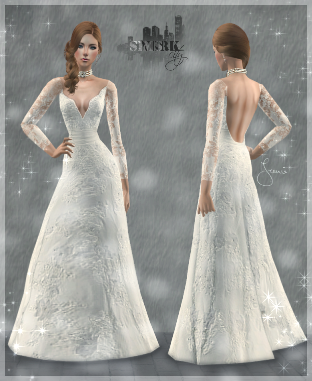 Wedding Altar Sims 2: Wedding Dress Life Dream (TS2) By 19Frency94 On DeviantArt