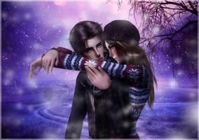 Winter in love by 19Frency94
