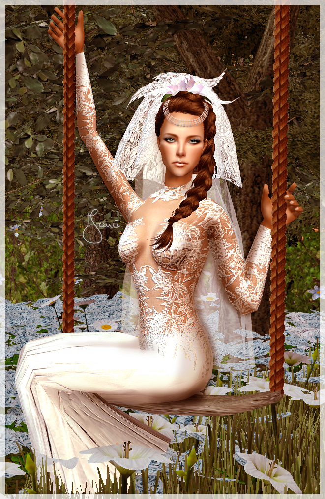 Bride Dress - Download (TS2) by 19Frency94
