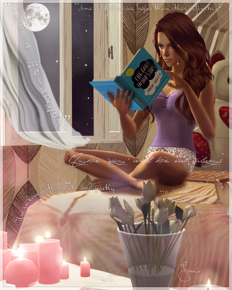 Reading TFIOS by 19Frency94