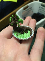 Mini Tree Dragon by emptyblackdeath