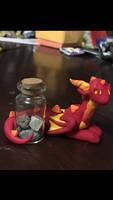 Greedy Red Dragon by emptyblackdeath