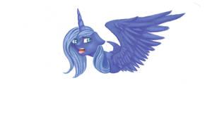 MLP Luna by emptyblackdeath