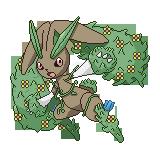 Lopunny (Planta/Tierra) by Kurotao