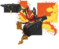 Beedrill (Bicho/Fuego) by Kurotao