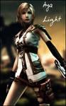 Aya Brea Lightning Custom
