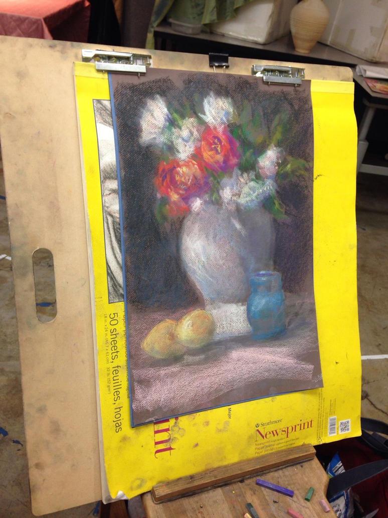 Dry pastel by blckspider