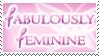 Fabulously Feminine stamp by watsons4