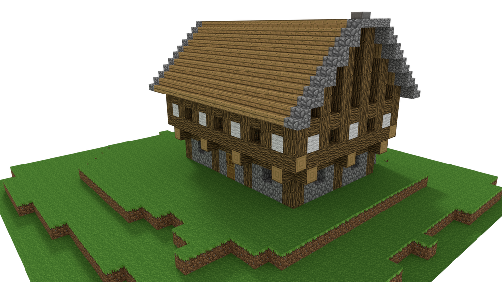 Minecraft Old House By Tohmis On Deviantart