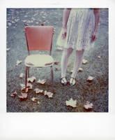 Cally Orange Chair by lloydhughes