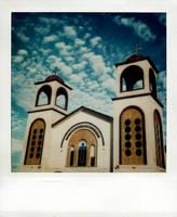 polaroid church by lloydhughes