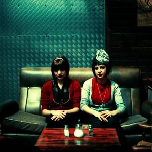 sitting together 1