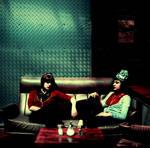 sitting together 2 by lloydhughes