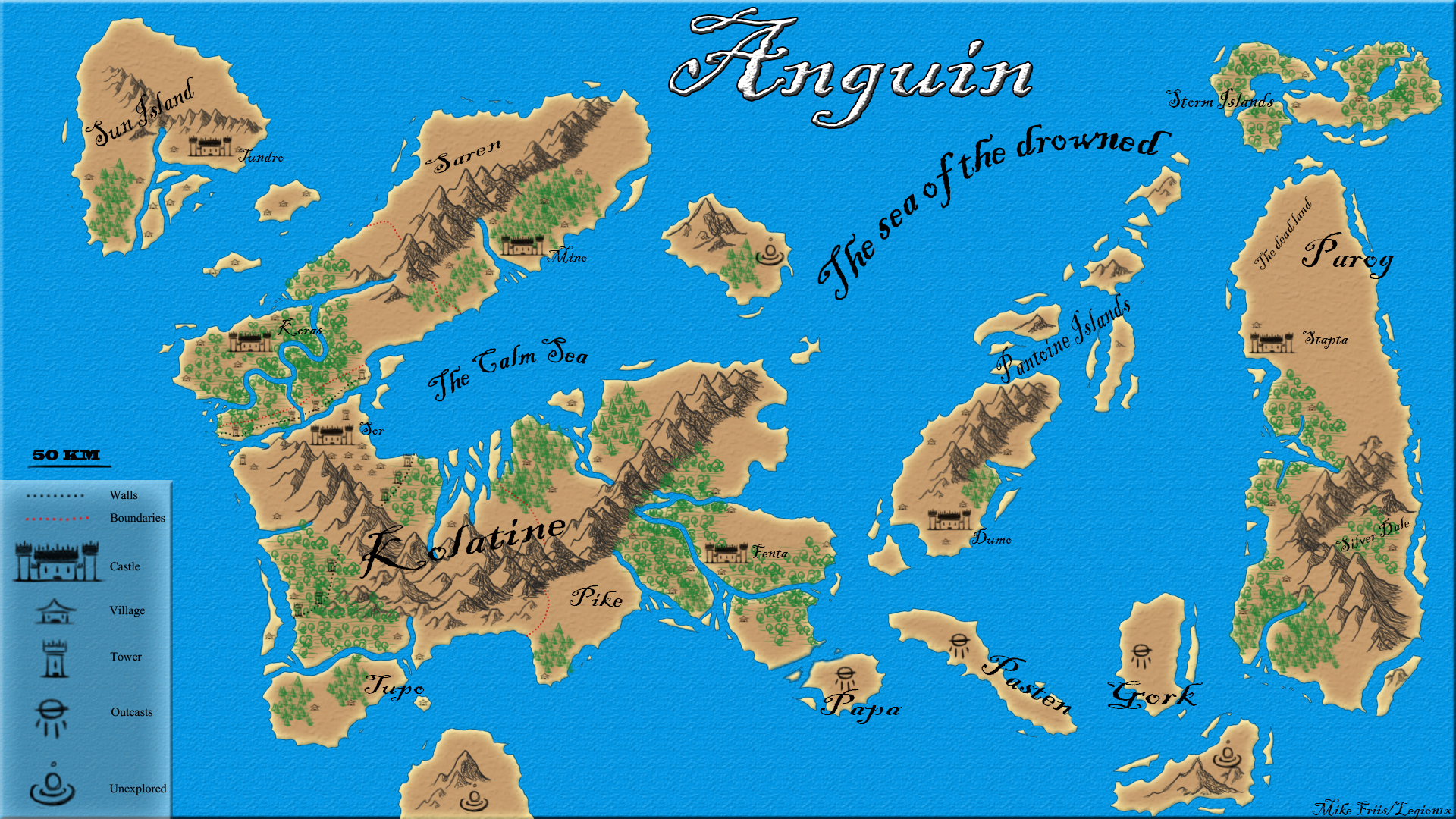 The World of Anguin by Royceedk