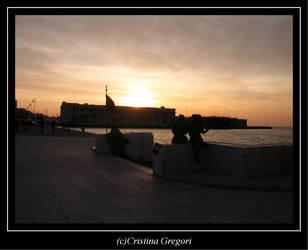 Trieste magic sunset by Crix4e