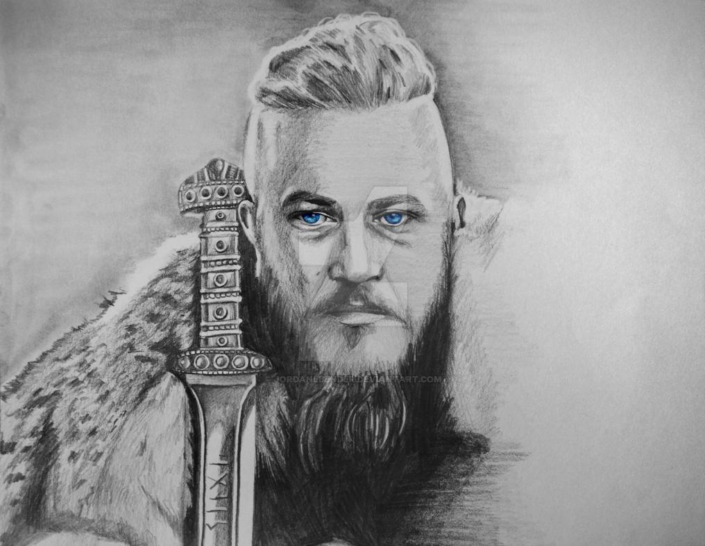 King Ragnar Lothbrok By JordanLBender