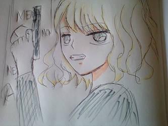 Atomic Blonde by kazumikikuchi