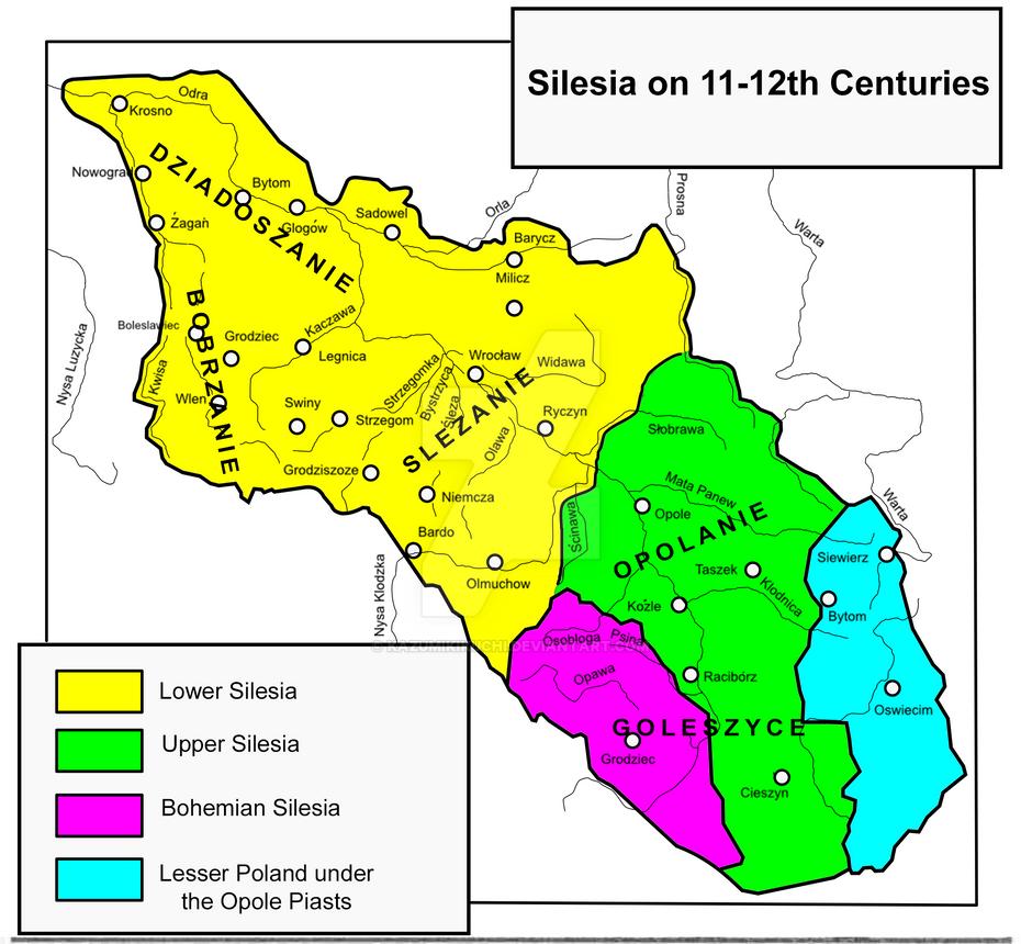Silesia on 11-12th centuries V2