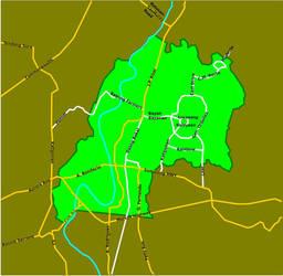 Marikina City Street Map