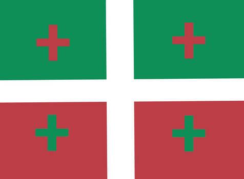 Hungary flag concept