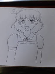 Smiling Mirai Asahina