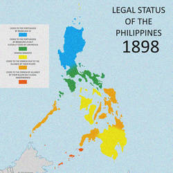 Legality of Philippines Spanish conquest 1898