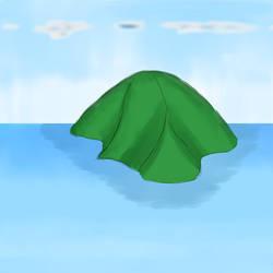 isolated virgin green Island