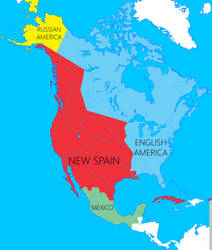 New Spain separate from Mexico 1898