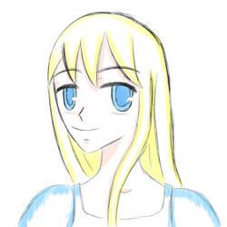 Blond faery princess